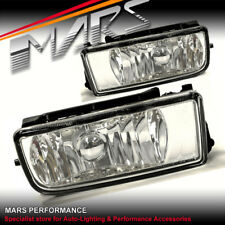 Clear M3 Style Front Bumper Bar Fog lamps for BMW E36 Sedan Coupe Lights