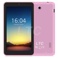 "LTC 7"" Inch 8GB Google Android 5.1 Quad Core 2*Camera IPS Display WiFi PC Tablet"