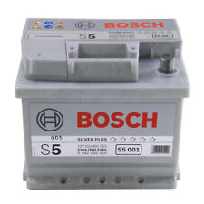 S5001 S5 063 Car Battery 5 Years Warranty 52Ah 520cca 12V Electrical By Bosch
