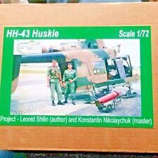 Kaman HH-43 Huskie. Multi-media Resin kit, 1/72, Croco Resins