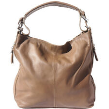 Shoulder Bag Italian Genuine Leather Hand made in Italy Florence 3013 dt