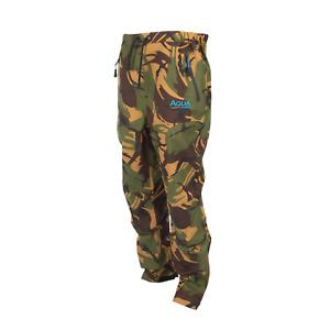Aqua F12 DPM Trousers - All sizes - Carp Fishing Waterproof Clothing