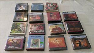 Lot of 15 Science Fiction/Fantasy CD Audiobooks