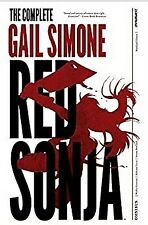RED SONJA COMPLETE GAIL SIMONE OVERSIZED HARDCOVER  *** BRAND NEW ***