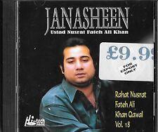 RAHAT FATEH ALI KHAN QAWAL - JANASHEEN -  VOL.18 - BRAND NEW  CD