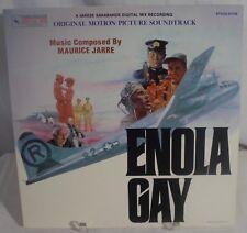 ENOLA GAY (Maurice Jarre) rare original near mint stereo lp (1980)