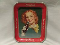 "VINTAGE 1950'S COCA-COLA ""REDHEAD GIRL"" SERVING TRAY ""HAVE A COKE"""