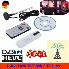 Neu USB 2.0 DVB-T2 / T DVB-C TV Tuner Stick USB Dongle für PC / Laptop WindowsKT