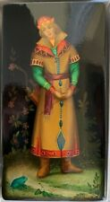 """Russian Lacquer Fedoskino """"Ivan from the Frog Princess""""  in Original Box"""