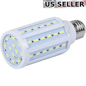 75 Watt Equivalent LED Bulb 60-Chip Corn Light E26 1100lm 10W Cool Daylight 6000