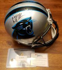 Panthers DJ Moore RC Auto full size Rep Helmet w/ Fanatics COA