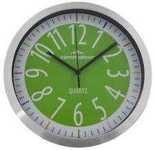 u523-03 1 Horloge murale avec aluminium boîtier - 25cm diamètre D0