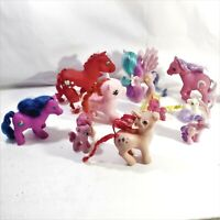 My Little Ponies Figures Brushable Hair Lot 10 toys