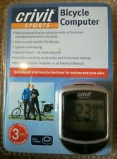 CRIVIT SPORTS BICYCLE COMPUTER * NEW *