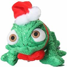New Tangled Rapunzel Pascal Christmas Edition Green Chameleon Plush Figure