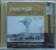 I FOUGHT THE LAW - Various Artists CD (NEW & SEALED) COUNTRY 1958-1962