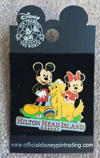 Disney WDW Hotels Hilton Head Island Resort Mickey Minnie Shadow Dog Ball Pin