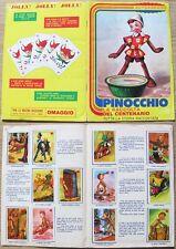 PINOCCHIO_La raccolta del Centenario_Tutta La storia_Album Figurine JOLLY, 1981*