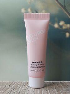 Saturday Skin Rub-a-Dub Refining Peel Gel, Travel Size: 10 ml