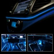 Universal Car Interior LED Decorative Wire Atmosphere Cold Light Strip Blue