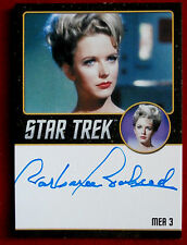 Star Trek Tos 50th, Barbara Babcock as Mea 3, Autograph Card Very Limited