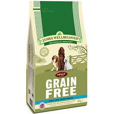 James Wellbeloved Adult Grain Free Fish & Vegetables Gluten Free Dog Food 10kg
