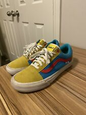 "Rare Old School Pro ""Golf Wang� Vans Size 10"