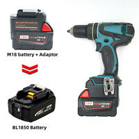 Milwaukee M18 18V Li-Ion für MAKITA 18V BL Serie Li-Ion Akku-Adapter
