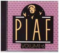 PIAF - CD - Volume 6 - VERY GOOD CONDITION