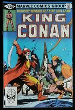 KING CONAN Vol: 1 #7 - 1st Paul Smith Story Art - September 1981 FN 6.0