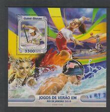 Guinea Bissau - 2016, Olympic Games, Rio sheet - MNH