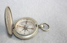 Keuffel & Esser Co. Hunting Style Pocket Compass Silveroid Case