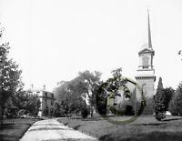 """GREGORY'S CHURCH DORCHESTER AVENUE/"""" © 1892 Rep MA Catholic churches /""""ST Boston"""