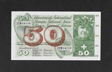 UNC 50 franken 1968 SWITZERLAND