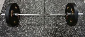 5ft Olympic Barbell 300kg rated - 2.8mm bar gym fitness equipment UK FREE CLIPS