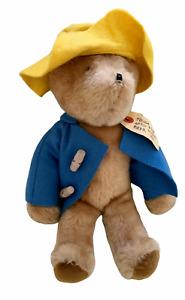 """Vintage Original PADDINGTON BEAR Eden Toys 1975 13"""" Plush Stuffed Toy Animal"""