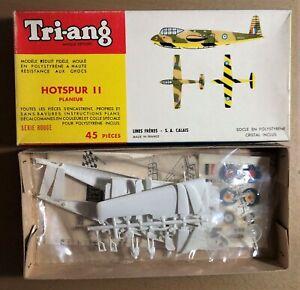 TRI-ANG 152P - HOTSPUR II PLANEUR - 1/72 PLASTIC KIT