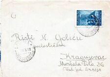 SLOWENISCHE KUSTENLAND 1946 - COVER FROM S.PIETRO DEL CARSO NACH SERBIEN