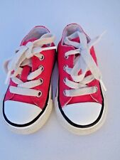 Converse All Star Baby Girls Pink Shoes Sneakers Size 5 Walking Running