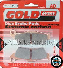 BMW R 1150 GS (98-07) R1150GS > REAR BRAKE PADS < GOLDFREN SINTERED CERAMIC