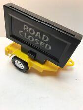 Tonka Toy Road Closed Trailer 2010 Hasbro Funrise