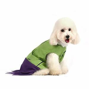 Hulk Dog Costume Outfit NEW Marvel Advengers Superhero