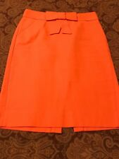 J. Crew Cotton Bow Pencil Skirt Size 0
