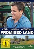 JOHN KRASINSKI,FRANCES MCDORMAND MATT DAMON - PROMISED LAND  DVD NEU