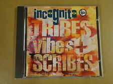 CD / INCOGNITO – TRIBES, VIBES AND SCRIBES