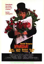 LOVERBOY MOVIE POSTER Original Rolled SS 27x40 PATRICK DEMSEY 1989