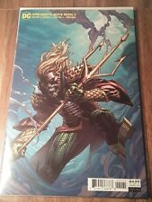 Dark Nights Death Metal #2 David Finch Aquaman Variant Dc 2020