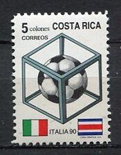 35404) COSTA RICA 1990 MNH** W. Cup Soccer Italy - Calcio