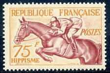 stamp / TIMBRE FRANCE  N° 965 * JEUX OLYMPIQUES HELSINKI 1952 cote 26 €