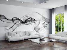 Luxury Modern 3D Wallpaper Bedroom Mural Roll Smoke Clouds Abstract Wall Picture